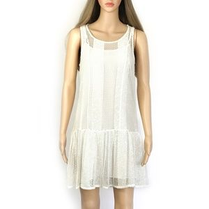 BCBGeneration White Summer Dress